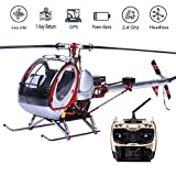 WEIFLY RC Helicopter, Remote Control Toys Drone Aircraft 9-Channel Full Metal...